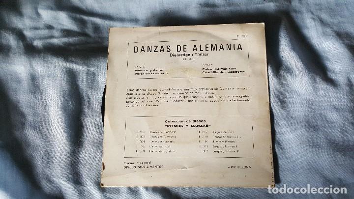 Discos de vinilo: DANZAS DE ALEMANIA - Foto 2 - 66031210