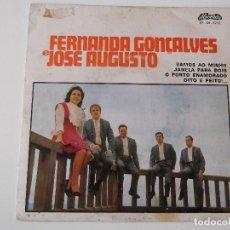 Discos de vinilo: FERNANDA CONCALVES E JOSE AUGUSTO - VAMOS AO MINHO. Lote 66042338