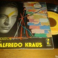 Discos de vinilo: 4 ÉXITOS DE ALFREDO CRAUS: DOÑA FRANCISQUITA+3 (EP.7