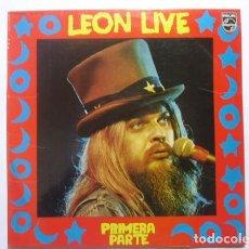 Discos de vinilo: LEON RUSSELL: LEON LIVE - PRIMERA PARTE. PHILIPS ?– 63 69 118, SPAIN, 1974. [LP VINILO] . Lote 66047966