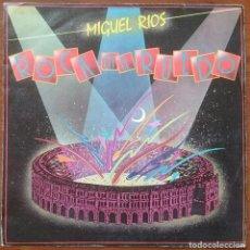 Discos de vinilo: MIGUEL RÍOS: ROCK EN EL RUEDO / LA ENCRUCIJADA, SINGLE POLYDOR 883 135-7, SPAIN, 1985. VG+/VG+. Lote 66075122