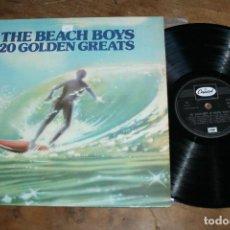 Discos de vinilo: THE BEACH BOYS LP 20 GOLDEN GREATS MADE IN UK. Lote 66085430