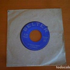Discos de vinilo: SVANTE THURESSON & ULLA HALLIN / UN NUEVO Y VIEJO VALS EUROVISIÓN (SINGLE 1966). Lote 66092202