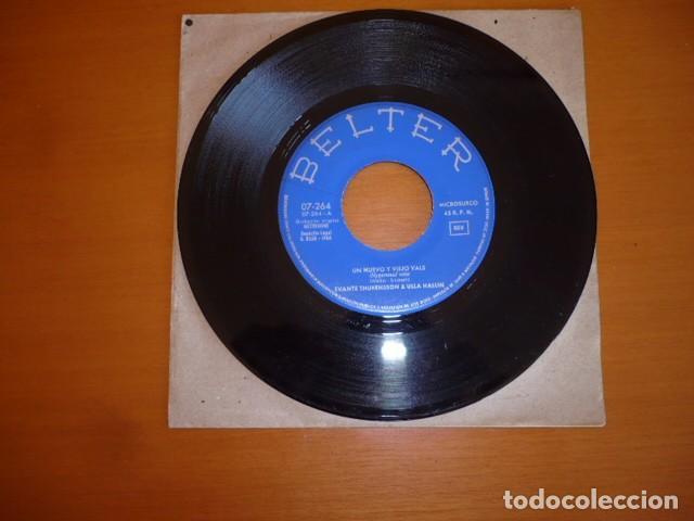 Discos de vinilo: SVANTE THURESSON & ULLA HALLIN / UN NUEVO Y VIEJO VALS EUROVISIÓN (SINGLE 1966) - Foto 2 - 66092202