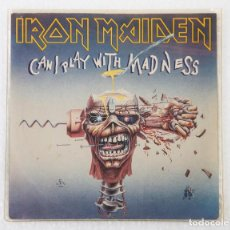 Discos de vinilo: IRON MAIDEN - CAN I PLAY WITH MADNESS 1988. 7PULGADAS. Lote 66115750