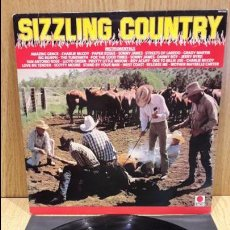 Discos de vinilo: SIZZLING COUNTRY INSTRUMENTALS. RARO LP / SPOT RECORDS - 1985 / LUJO. ****/****. Lote 66130282
