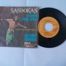 Discos de vinilo: SANDOKAN. SWEET LADY BLUE. OLIVER ONIONS. GUIDO E MAURIZIO DE ANGELIS. RCA 1976 SG SINGLE VINILO. . Lote 66130338