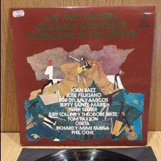 Discos de vinilo: LOS MAS GRANDES CANTANTES FOLKLÓRICOS AMERICANOS DE LOS AÑOS 60. LP DE LUJO ****/****. Lote 66132746
