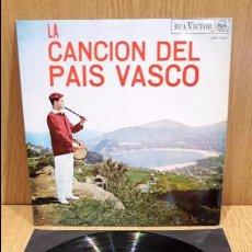 Discos de vinilo: LA CANCIÓN DEL PAÍS VASCO. REVEIL BASCO-BEARNAIS. LP / RCA-VICTOR - 1967 / LUJO. ****/****. Lote 66138434