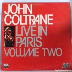 Discos de vinilo: VINILO LP: JOHN COLTRANE LIVE IN PARIS VOL.TWO- AFFINITY 1980.. Lote 66142362