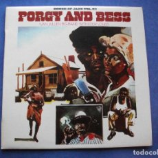 Discos de vinilo: IVAN JULIEN BIG BAND WITH EDDY LOUIS PORGY AND BESS LP SPAIN 1981 PDELUXE. Lote 66177590