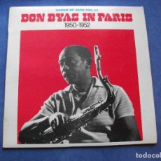 Discos de vinilo: DON BYAS DON BYAS IN PARIS LP SPAIN 1981 PDELUXE. Lote 66177678