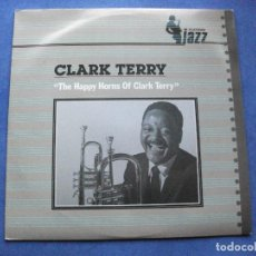 Discos de vinilo: CLARK TERRY THE HAPPY HORNS OF CLARK T. LP SPAIN 1984 PDELUXE. Lote 66179134