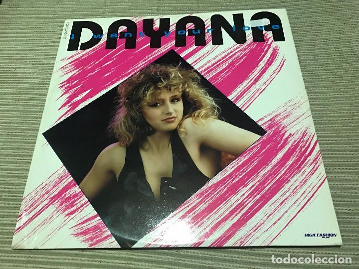 DAYANA - I WANT YOUR LOVE - MAXI HIGH FASHION 89 HOLANDA SYNTH POP HI NRG (Música - Discos de Vinilo - Maxi Singles - Disco y Dance)