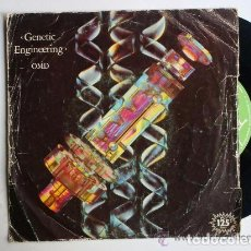 Discos de vinilo: OMD - GENETIC ENGINEERING / 4-NEU SINGLE.. Lote 66204886