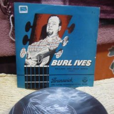 Discos de vinilo: BURL IVES. LA8552 BRUNSWICK BALLADS AND FOLK SONGS. VOLUME 2. Lote 66207678