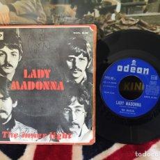 Discos de vinilo: THE BEATLES LADY MADONNA. Lote 66213501