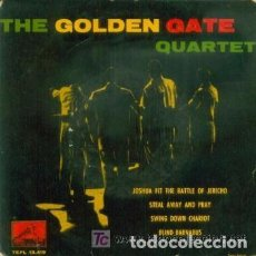 Discos de vinilo: THE GOLDEN GATE QUARTET : JOSHUA FIT THE BATTLE OF JERICHO, STEAL AWAY AND PRAY+ 2 . Lote 66215450