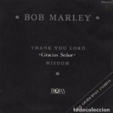 Dischi in vinile: BOB MARLEY - GRACIAS SEÑOR THANK YOU LORD ULTR@R@RE SPANISH SINGLE 45 ZAFIRO TROJAN. Lote 66217442