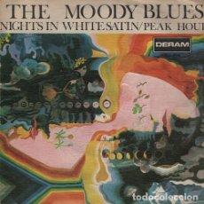 THE MOODY BLUES - Nights In White Satin - single 45 Spain 1967 NOCHES DE BLANCO SATEN