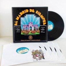 Discos de vinilo: CAJA 6 VINILOS ZARZUELAS - EL MADRID DE SIEMPRE. 1980 COLECCIONISTA. Lote 66223214