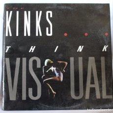 Discos de vinilo: VINILO LP: THE KINKS -THINK VISUAL-. POLYGRAM 1986.. Lote 66235422