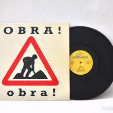 Discos de vinilo: DISCO DE VINILO OBRA! CURIOSA PORTADA - 1993 PRODUCIDO POR J. GRAU Y J. VERDES. Lote 66261646