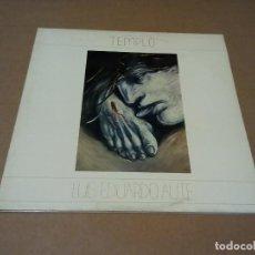 Discos de vinilo: LUIS EDUARDO AUTE - TEMPLO (2LP 1987, ARIOLA 5H 303217). Lote 203079527