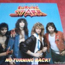 Discos de vinilo: JACK STARR BURNING STARR NO TURNING BACK! (VIRGIN STEELE, DEVIL CHILDE, PHANTOM LORD,THRASHER). Lote 66289890