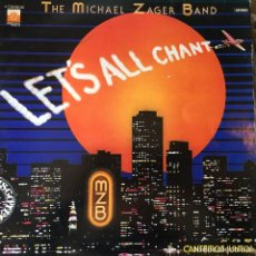 Discos de vinilo: THE MICHAEL ZAGER BAND - LET'S ALL CHANT . LP . 1978 EMI-ODEON. Lote 66305202