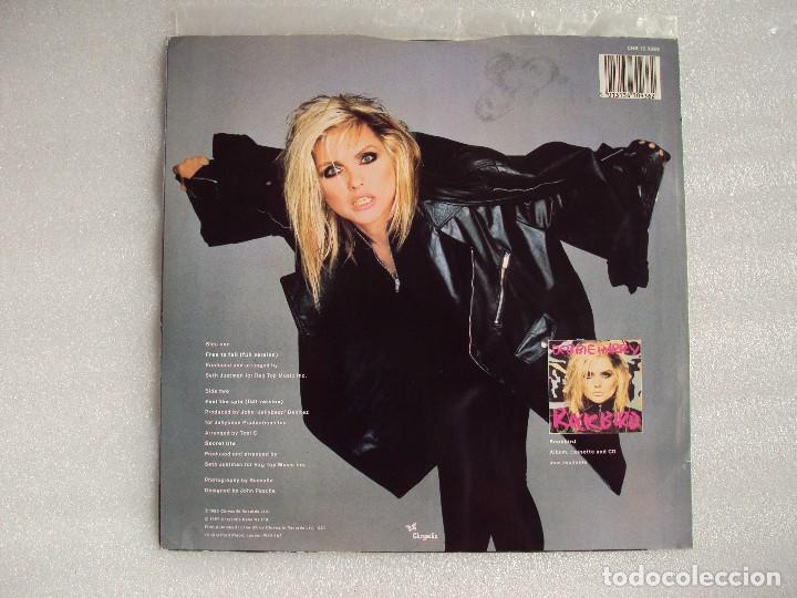Discos de vinilo: DEBBIE HARRY (BLONDIE) FREE TO FALL, MAXI-SINGLE EDICION MADE IN UK 1987, CHRYSALIS RECORDS - Foto 2 - 66313358