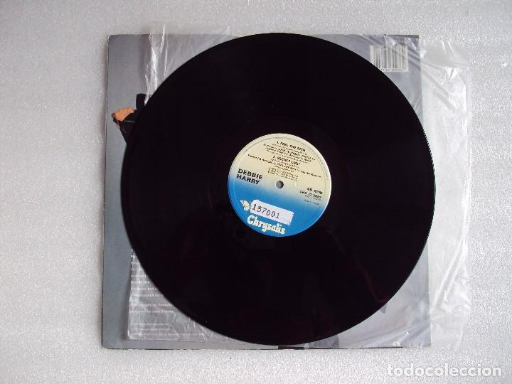Discos de vinilo: DEBBIE HARRY (BLONDIE) FREE TO FALL, MAXI-SINGLE EDICION MADE IN UK 1987, CHRYSALIS RECORDS - Foto 3 - 66313358