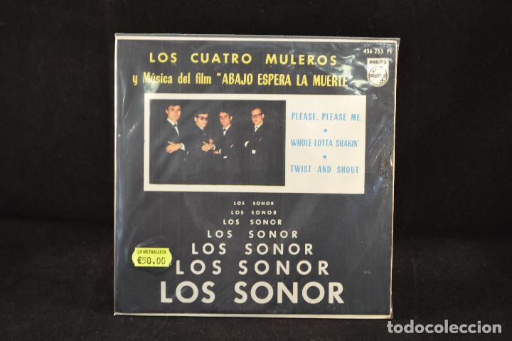 LOS SONOR - LOS CUATRO MULEROS +3 - EP (Música - Discos de Vinilo - EPs - Grupos Españoles 50 y 60)