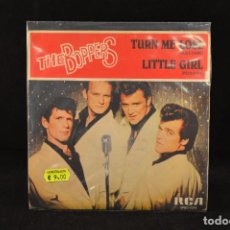 Disques de vinyle: THE BOPPERS - TURN ME LOSE / LITTLE GIRL - SINGLE. Lote 66349898