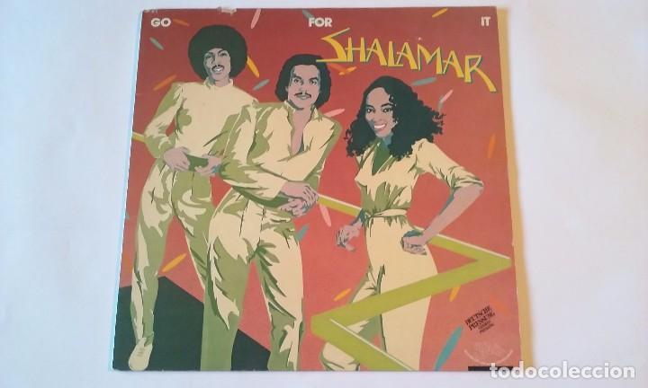 SHALAMAR - GO FOR IT - LP - 1981 (Música - Discos - LP Vinilo - Funk, Soul y Black Music)