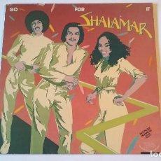 Discos de vinilo: SHALAMAR - GO FOR IT - LP - 1981. Lote 66432386