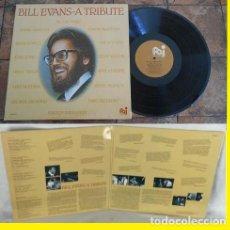 Discos de vinilo: BILL EVANS - A BILL EVANS TRIBUTE !! DOBLE LP !! H. HANCOCK, M TYNER, C COREA,ORG EDIT USA, TODO EXC. Lote 54810459