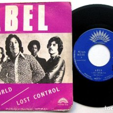 Discos de vinilo: ABEL - LOST CONTROL / PLEASE WORLD - SINGLE AMERICA RECORDS 1971 BPY. Lote 66456678