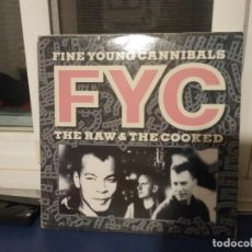 Discos de vinilo: FINE YOUNG CANNIBALS ?– THE RAW & THE COOKED. Lote 66458782