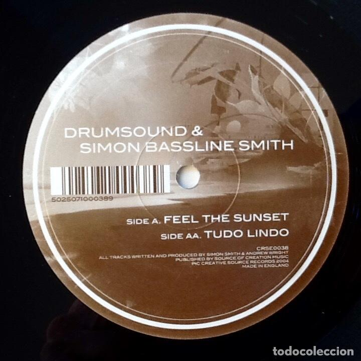 Discos de vinilo: DRUMSOUND & SIMON BASSLINE SMITH : FEEL THE SUNSET [UK 2004] 12' - Foto 3 - 66459550