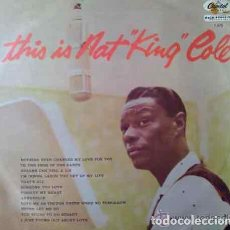 Discos de vinilo: NAT KING COLE - THIS IS NAT KING COLE - LP ORIGINAL REINO UNIDO EN SELLO CAPITOL. Lote 30846901