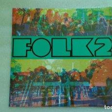 Discos de vinilo: GRUP DE FOLK - FESTIVAL FOLK 2 LP 1968 . Lote 66464298