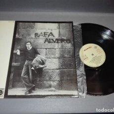 Discos de vinilo: 918- RAFA ALVERO DISCO VINILO LP - PORTADA VG ++ / DISCO VG ++. Lote 66471194