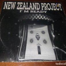 Discos de vinilo: NEW ZEALAND PROJECT ?– I'M READY SELLO: DOMINO RECORDS (10) ?– DMN109 FORMATO: VINYL, PAÍS: ITALIA. Lote 66473114