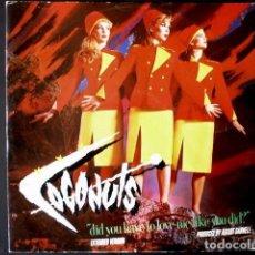 Discos de vinilo: THE COCONUTS (MAXI- EDICION INGLESA) DID YOU HAVE TO LOVE ME LIKE YOU DID? - 45 EMI LONDON 1983 -. Lote 66473778