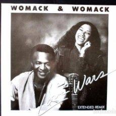 Discos de vinilo: WOMACK & WOMACK (MAXI EDICIÓN INGLESA) - LOVE WARS - MAXI 45 1984 - GOOD TIMES -. Lote 66474858