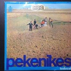 Discos de vinilo: DISCO VINILO LOS PEKENIKES LP ESTEREO. LADY PEPA, NO PUEDO SENTARME, SOMBRAS Y REJAS.... Lote 66477770