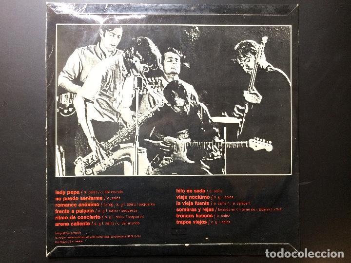 Discos de vinilo: Disco vinilo Los Pekenikes LP Estereo. lady pepa, no puedo sentarme, sombras y rejas... - Foto 2 - 66477770