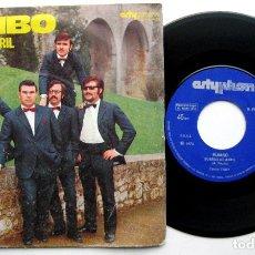 Discos de vinilo: RUMBO - SUEÑOS DE ABRIL - SINGLE 1973 ARTYPHON BPY. Lote 66483382
