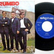 Discos de vinilo: RUMBO - OH, GELU / NO - SINGLE 1973 ARTYPHON BPY. Lote 66483750